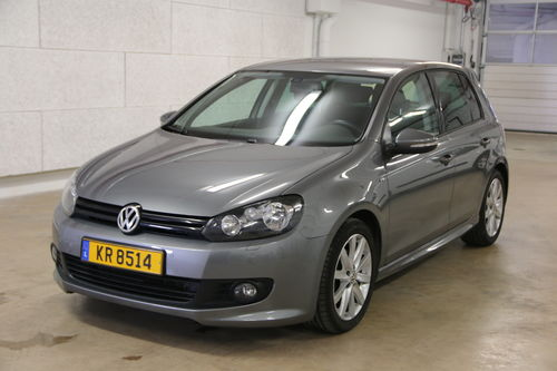 vw golf vi 2 0 tdi 140 cv r line luxtop occasions. Black Bedroom Furniture Sets. Home Design Ideas