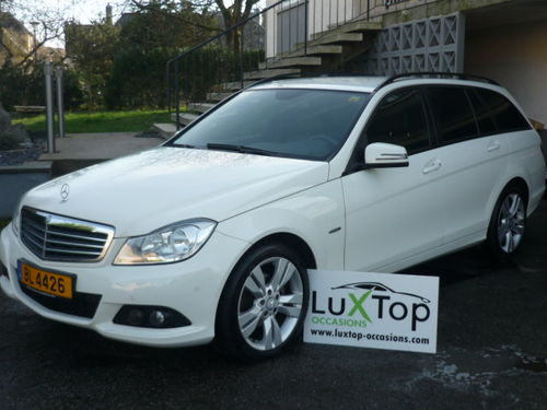 mercedes break c200 cdi avantgarde luxtop occasions. Black Bedroom Furniture Sets. Home Design Ideas